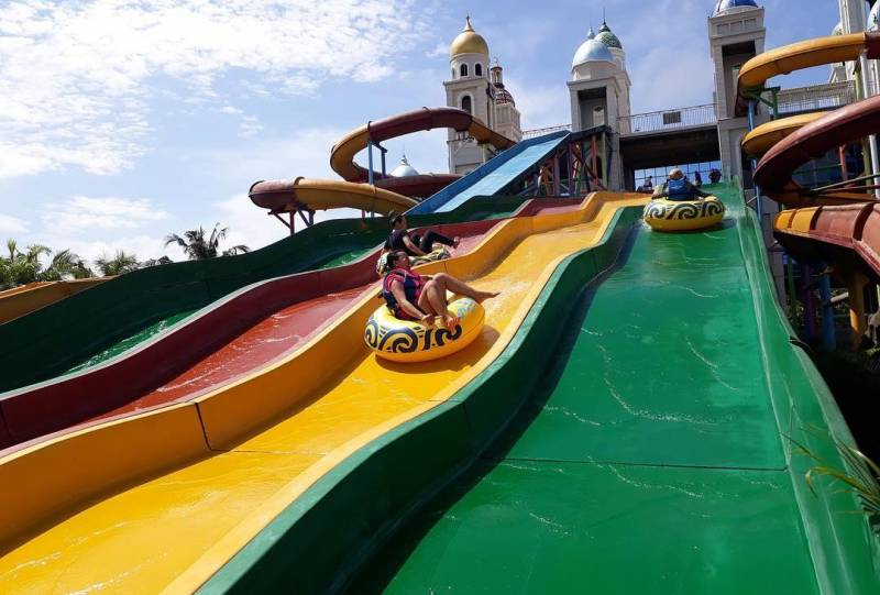 Race Slide Jepara Ourland Park Foto by Jeparaourlandpark.co .id